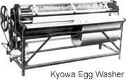 Kyowa's Egg Washer